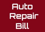Auto Repair Bill
