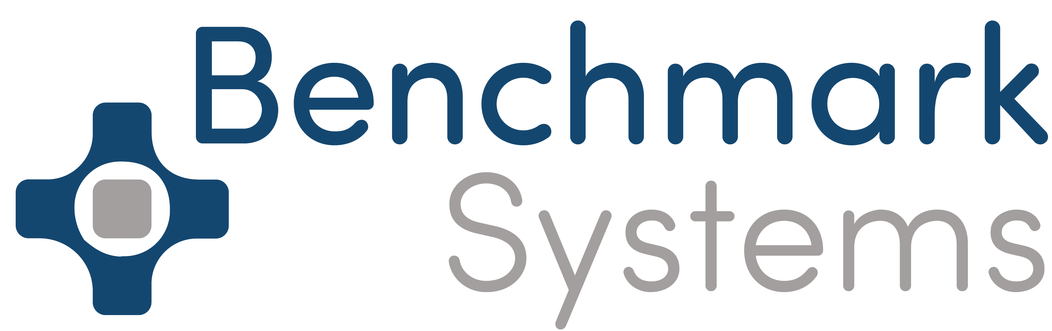 Logotipo de Benchmark Systems