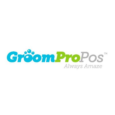 GroomPro POS logo