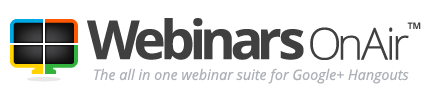 WebinarsOnAir logo