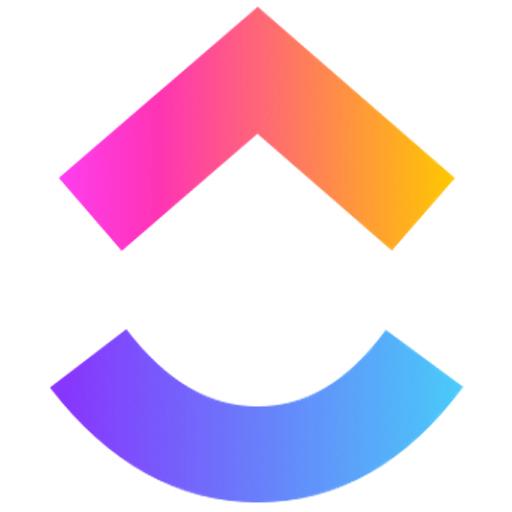 Logotipo do ClickUp