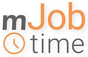 mJobTime Logo