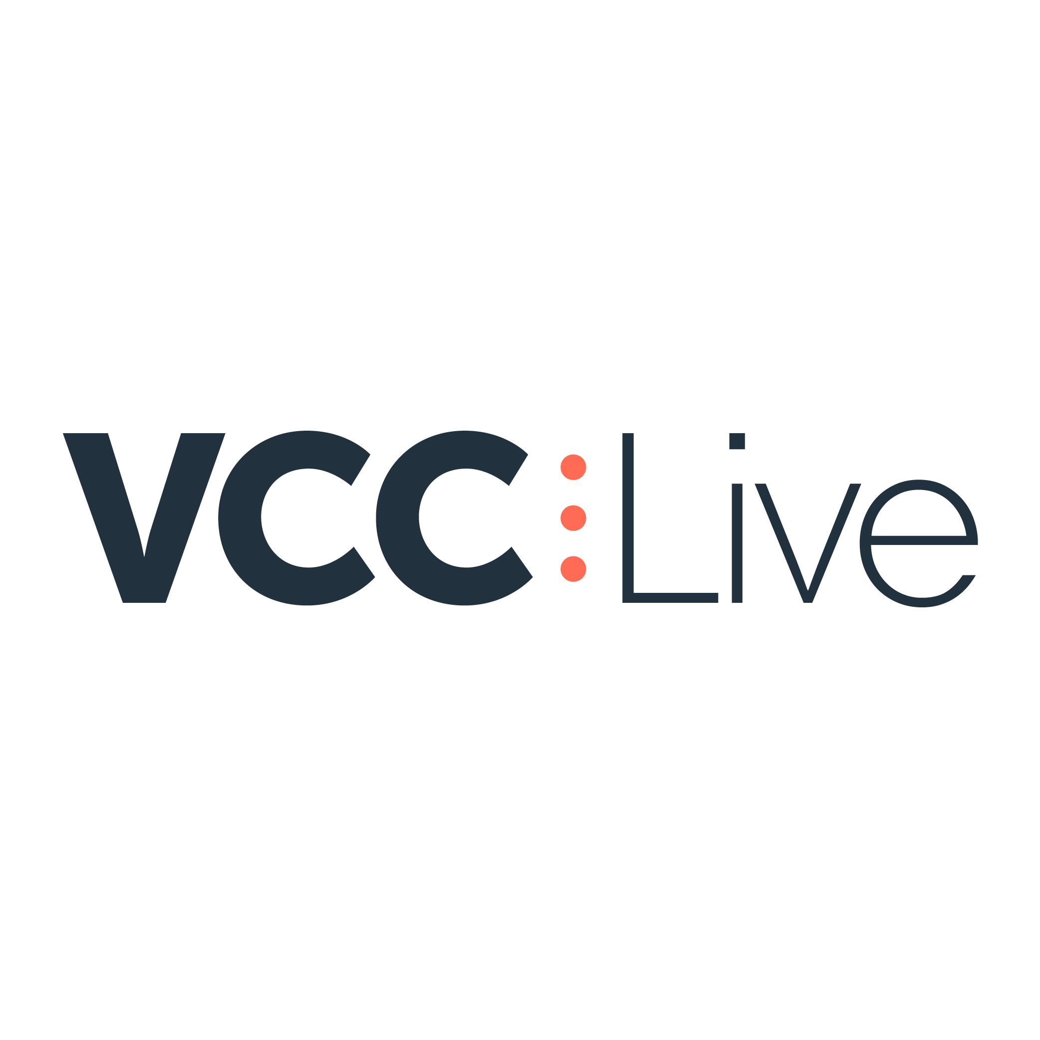 VCC Live logo