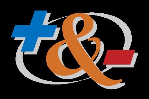 Plus & Minus logo