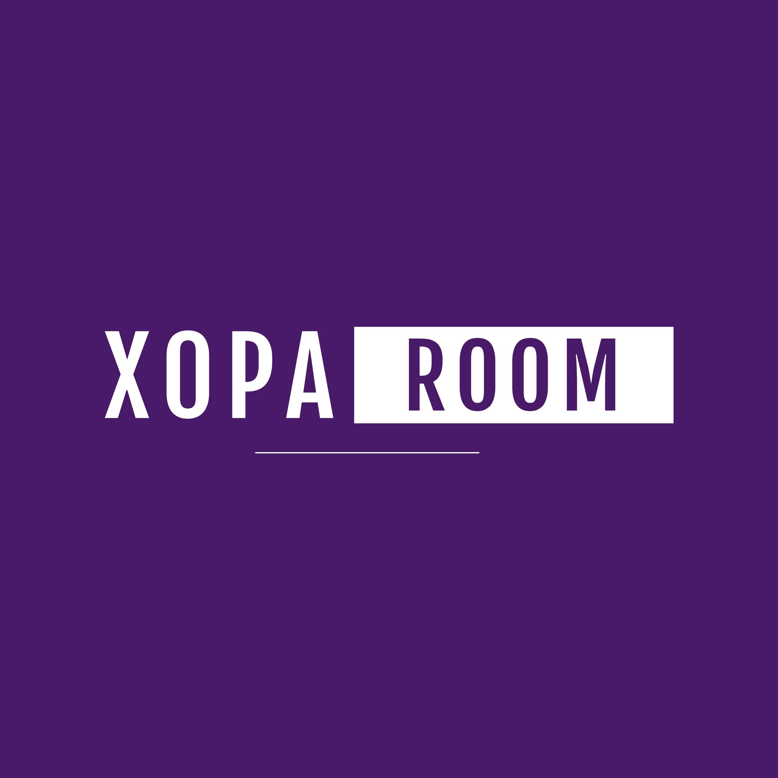 X0PA ROOM logo
