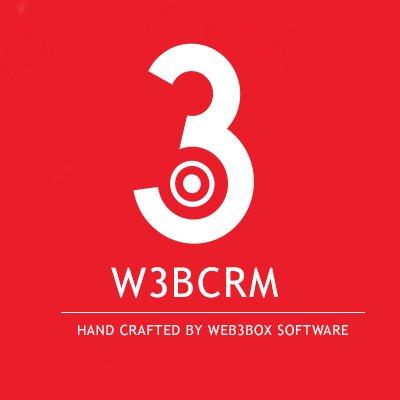 W3B CRM logo