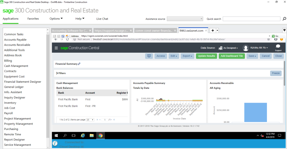 Sage 300 Construction and Real Estate Software - 4