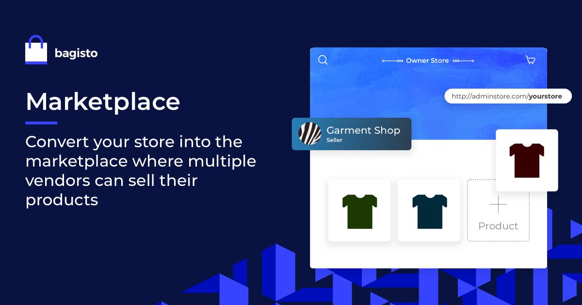 bagisto Multi-Vendor Marketplace