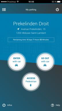 BePark Parking Management screenshot