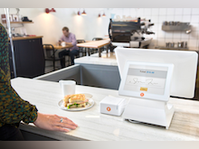 CAKE POS Software - A dual-POS customer touch display means more customer privacy while employees stay hard at work.