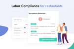 7shifts Screenshot: Be in compliance with labor standards