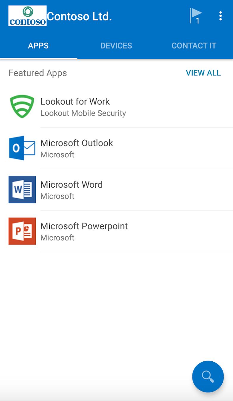 Microsoft Intune app catalog