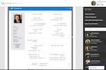 TalentQuest screenshot: TalentQuest employee information