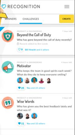 Perkbox recognition screenshot