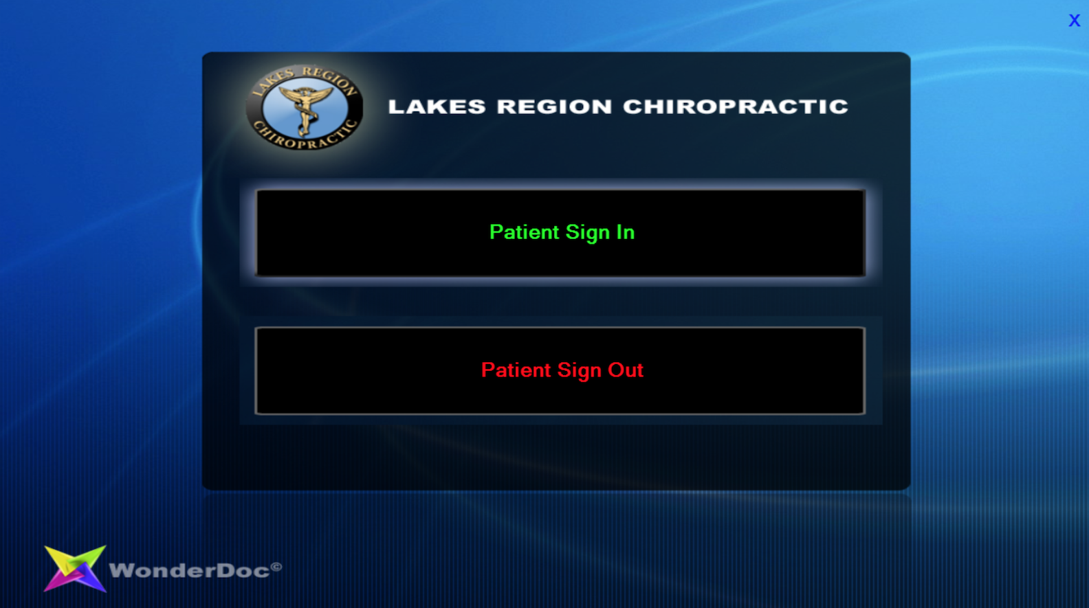 Patient sign in/out