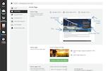 Docebo screenshot: Docebo navigation panel