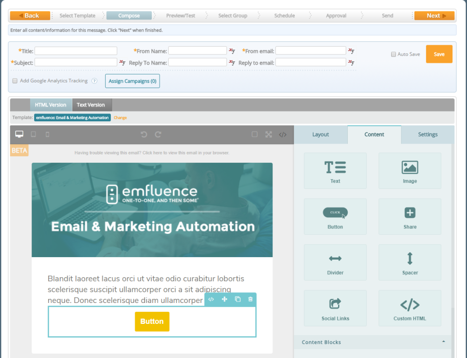emfluence Marketing Platform Software - 1