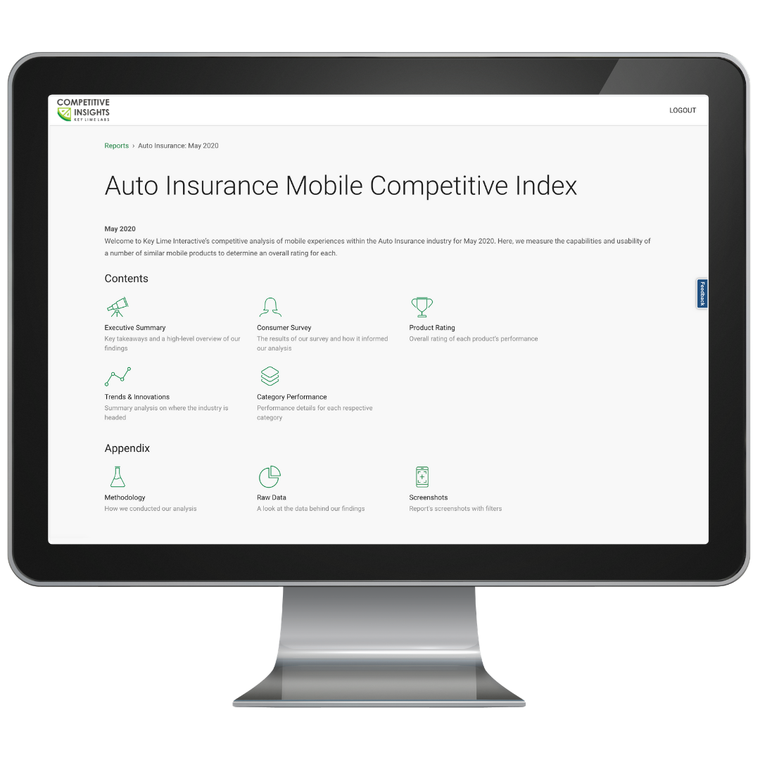 Competitive Insights Insurance Index