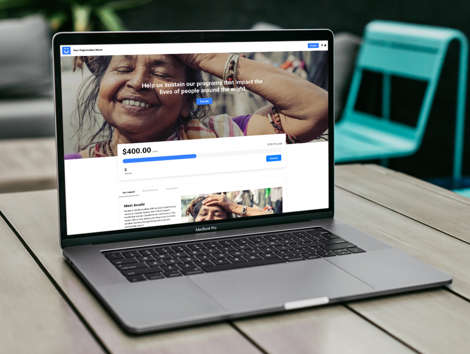 A gorgeous, custom Funraise fundraising site is yours with just a few clicks. Funraise's custom Fundraising Campaign Site editor is the industry's leading site builder and has earned kudos from nonprofits across the industry.