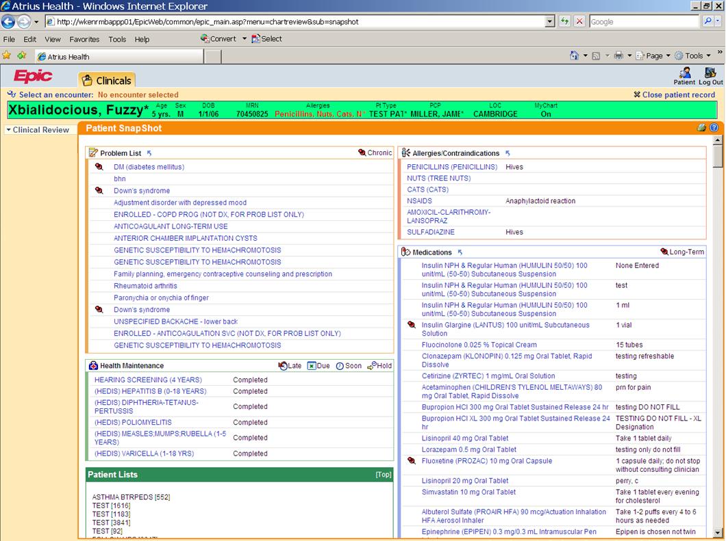 EpicCare EMR Software - 1