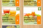 FoodZaps screenshot: Item grid view