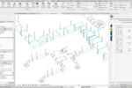 SysQue screenshot: SysQue 3D view