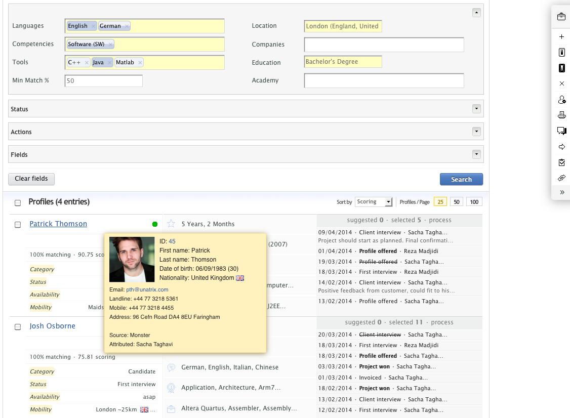 Unatrix Software - Homepage