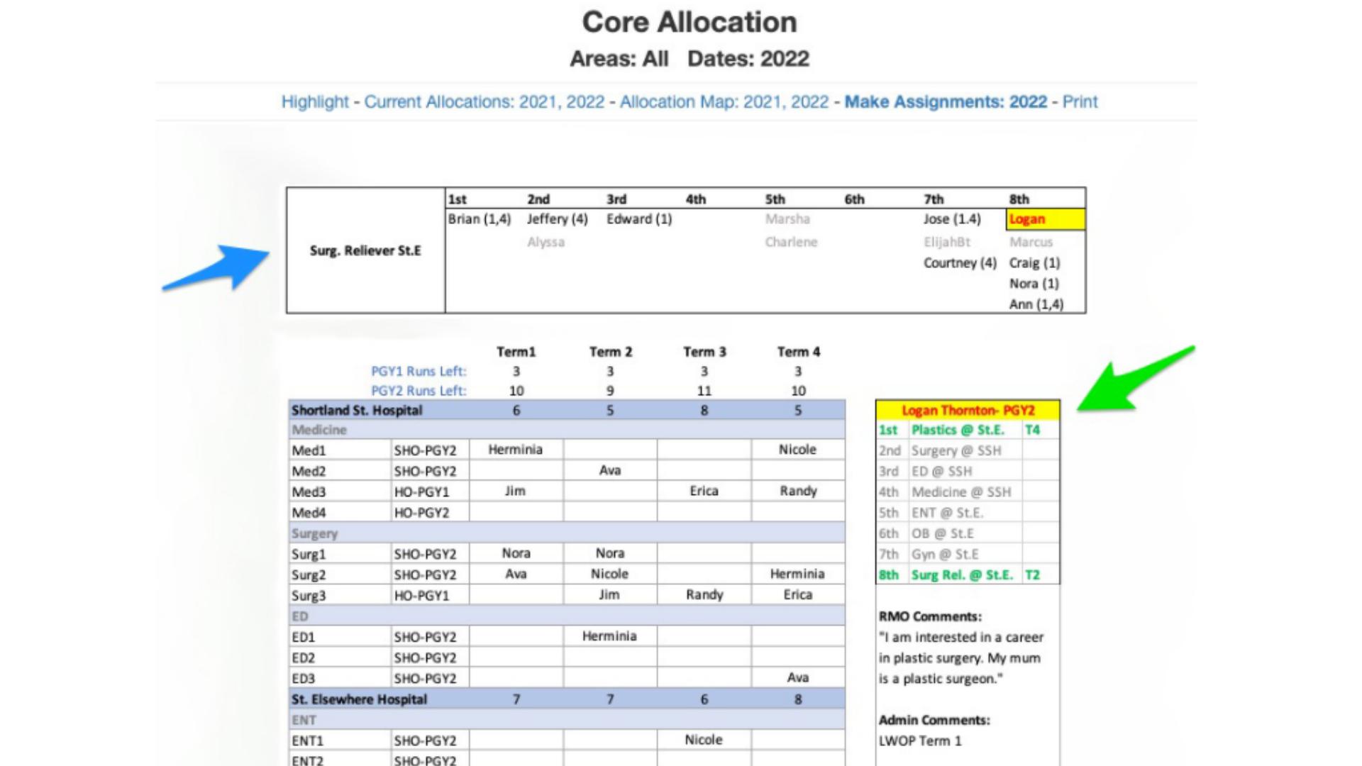 Core Schedule Software - 5
