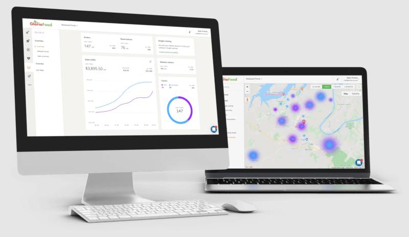 GloriaFood Software - GloriaFood reporting and analytics