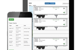 UltraShipTMS screenshot: Track trailer checks via smartphone or tablet device