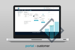 Capture d'écran pour Revogear : Customers can view and manage their profile and contact details via the customer portal