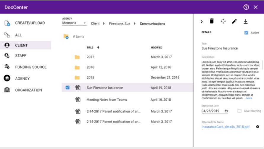 NPAWorks document management