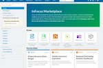 Unanet A/E screenshot: InFocus Marketplace - like an app store for InFocus