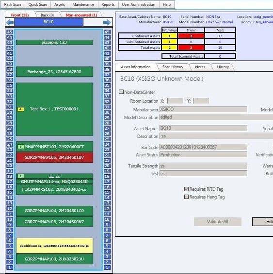 Asset Vue Inventory Software - Asset Vue Dashboard