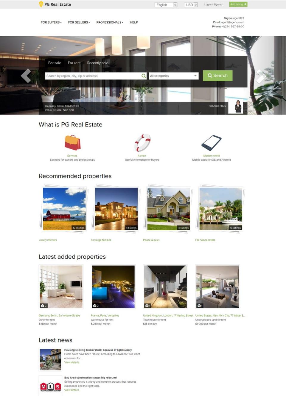PG Real Estate Logiciel - 1