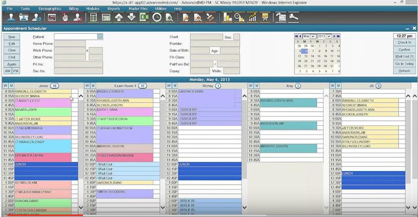 Scheduling Interface