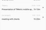 TMetric screenshot: TMetric app for Android