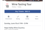 Eventbrite screenshot: Advertise and sell event tickets on social platforms such as Facebook