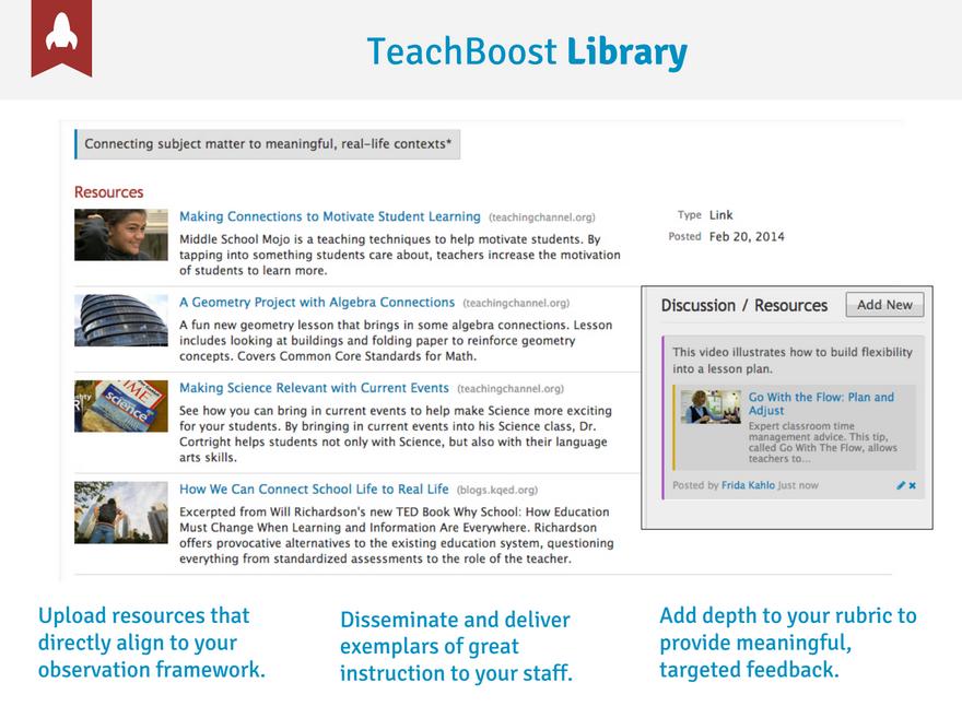TeachBoost library