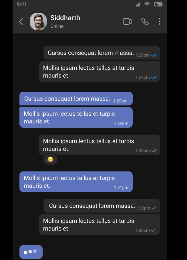 Applozic Mobile UI