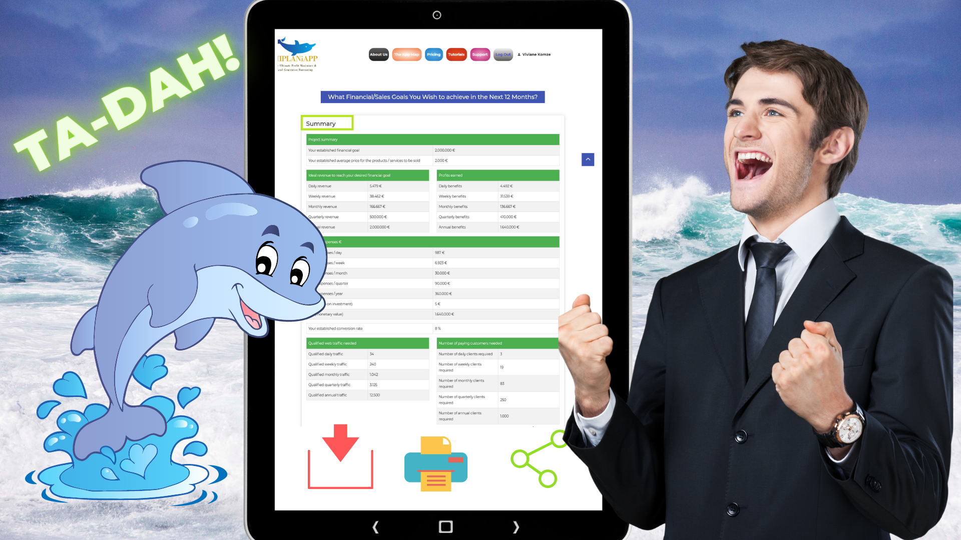 MIPLANiAPP® is the software you are going to need to achieve all your business goals.