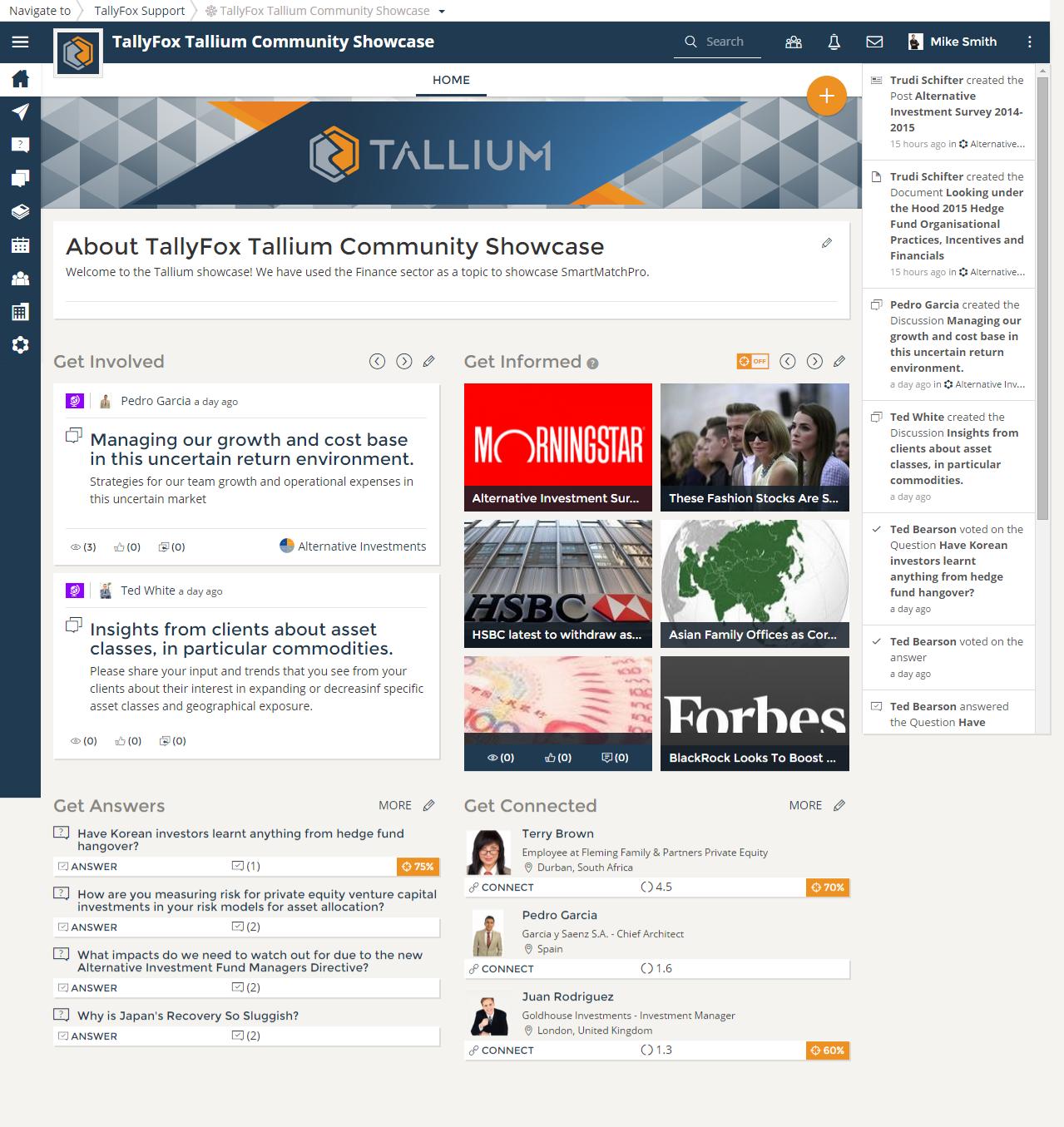 Tallium screenshot: TallyFox Tallium Community