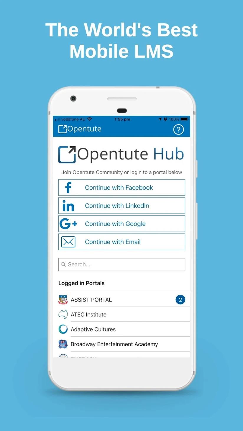 Opentute Software - Opentute Mobile App