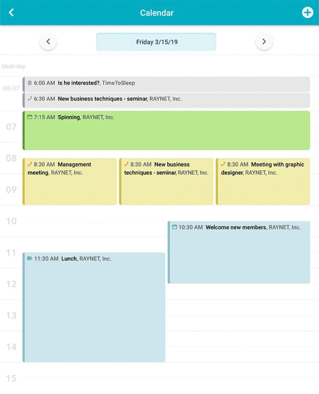 Smart Business Calendar -
