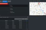 Ratality screenshot: Ratality scheduled routes planner