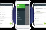 Flowlu screenshot: Mobile app