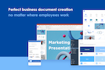 Capture d'écran pour Templafy : Templafy supports millions of employees worldwide to create documents faster and within company standards through anywhere-access to all content.
