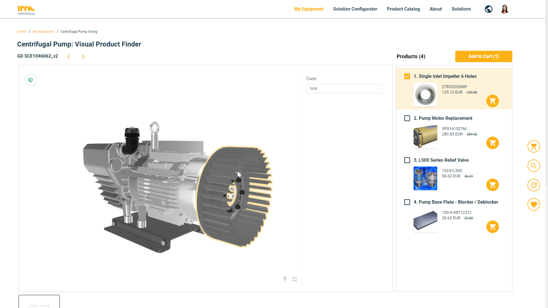 CPQ & Commerce for Manufacturers - 2D/3D Visual Configuration and Product Finder
