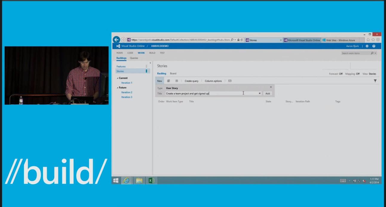 Microsoft Visual Studio Online Backlog