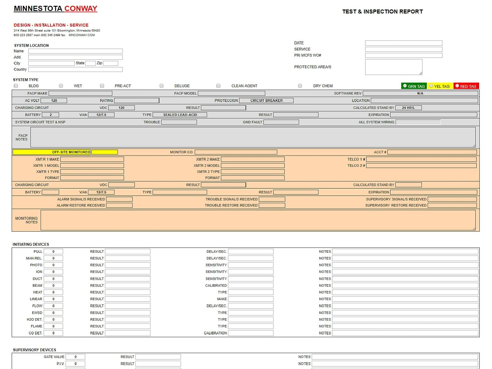 FieldConnect Software - Mobile Inspection Forms